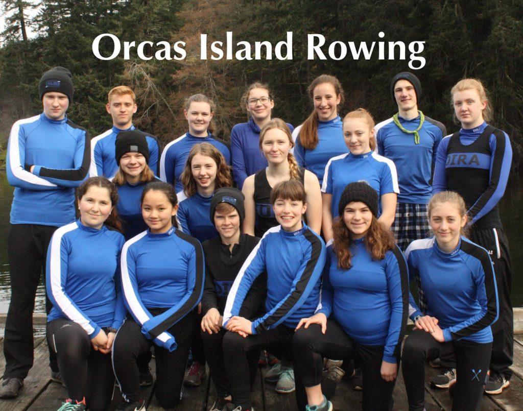 Orcas Island Rowing 2018